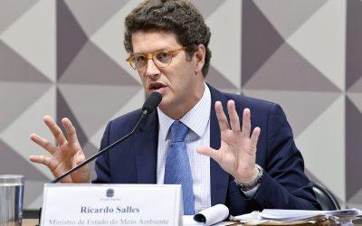 Presidente da Comissão de Meio Ambiente do Senado pede impeachment do ministro Ricardo Salles