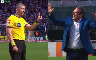 Pela primeira vez no Brasil, árbitro para jogo por conta de gritos homofóbicos