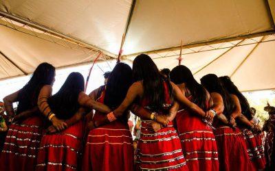 Fui num encontro de mulheres indígenas e olha o que aconteceu