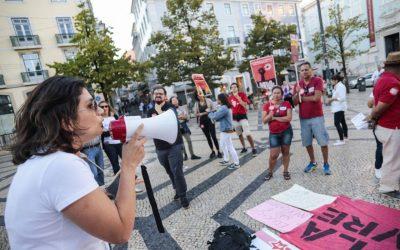 Lisboa participa de Tsunami da Educação contra o desmonte da educação no Brasil