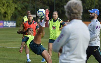 Seleção feminina brasileira voltará aos campos nesta quinta-feira contra Argentina