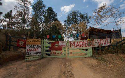 Ministério Público de SP se manifesta contra despejo do Acampamento Marielle Vive