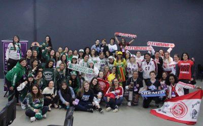 O que aconteceu no primeiro encontro nacional do Movimento Feminino de Arquibancada?