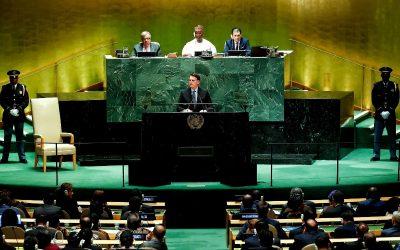 Bolsonaro, o presidente de um Brasil colônia na ONU