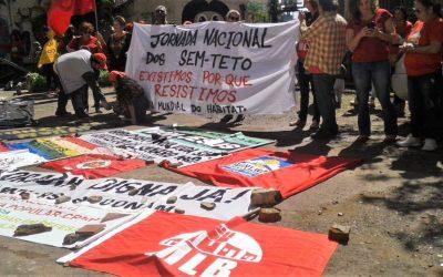 Atos na jornada de luta pela moradia acontecem em Porto Alegre