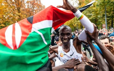 Kipchoge: a superação vem do Quênia