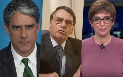 Diatribes sobre a má-fé jornalística e a desfaçatez presidencial