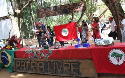 Polícia invade acampamento Pátria Livre do MST e coage as famílias, no dia da formatura escolar no local