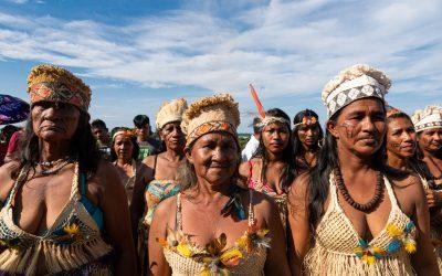 Indígenas protestam na base da Funai no Alto Solimões contra indicação de fuzileiro naval