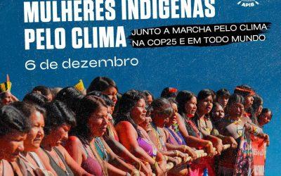 Mulheres indígenas convocam Ação Global pelo Clima