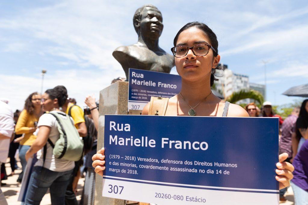 Veto à Praça Marielle Franco é mais um gesto autoritário do governador do Distrito Federal