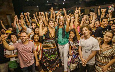 Em ano de eleições, Manuela D'Ávila e Olívia Santana debatem o Brasil na Casa NINJA Bahia