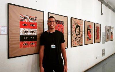Exposição de arte de estudante indígena de medicina da UNB está aberta até 30 de março