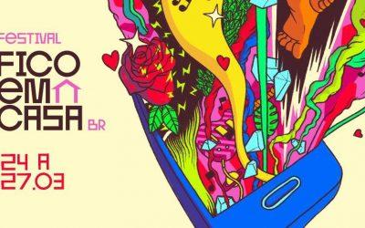 #FestivalFicoemCasaBR: Artistas de todo o Brasil se reúnem em iniciativa que levará mais de 70 shows para sua casa