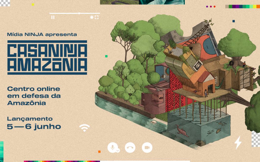 Mídia NINJA lança centro online em defesa da Amazônia