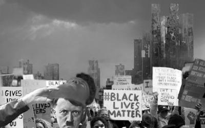 O demônio branco esteve infiltrado nos protestos pela morte de George Floyd