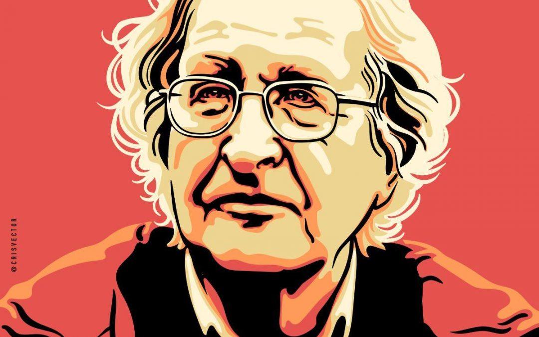 """Noam Chomsky: """"A vitória do neoliberalismo destruiu a política como refúgio dos vulneráveis""""."""