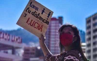 A crise sanitária e a incerteza em relação ao futuro político de Bolivia