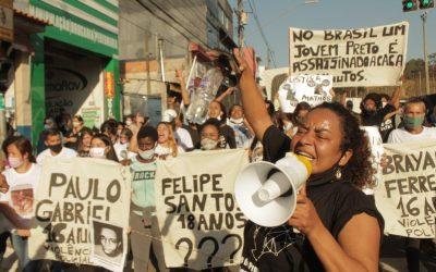 A quebrada resiste: Protesto contra racismo e violência policial em Cidade Tiradentes