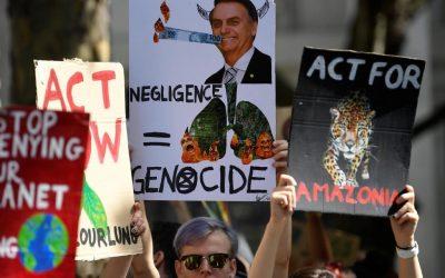 Oito países europeus apelam para que Brasil atue contra desmatamento