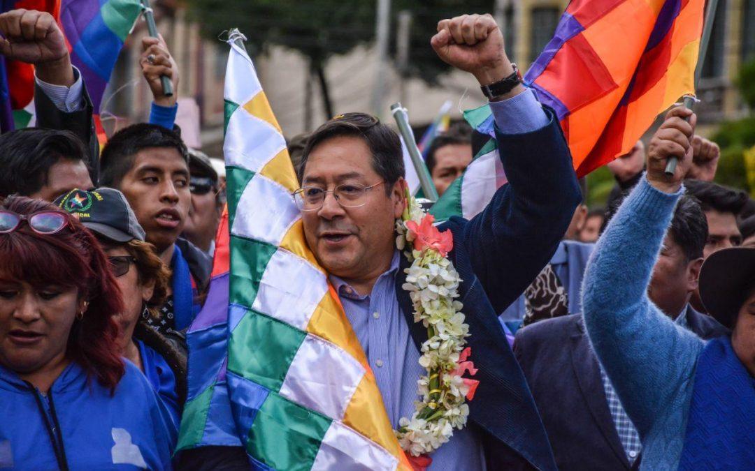 """Luis Arce, o candidato presidencial socialista boliviano: """"o golpe de novembro foi para saquear os recursos da Bolívia"""""""