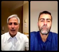 """""""A prioridade 0 é derrotar Bolsonaro nas eleições"""". Confira o Papo NINJA com Marcelo Freixo e Alessandro Molon"""