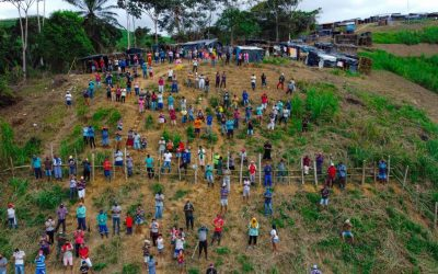Acampamento Bondade resiste a ameaça de despejo da Usina União, Amaraji em Pernambuco