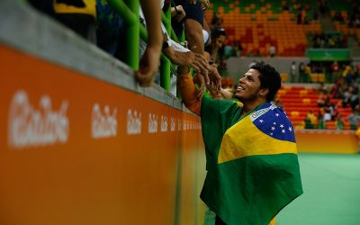 Leomon Moreno, a estrela de nossa conquista do ouro no golbol