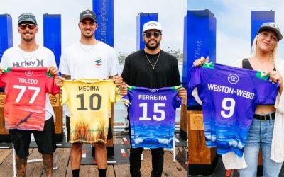Brazilian Storm: Brasileiros chegam às finais da WSL, têm título inédito consagrado e estão entre os melhores do mundo