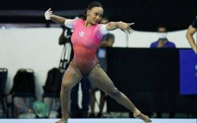 Rebeca Andrade não competirá Solo no Mundial de Ginástica Artística